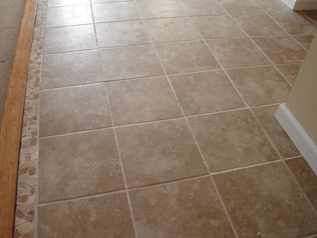 Ceramic tile bathroom floor - Ceramic Tile Fun Stuff And A Great Looking Result Ashpalt