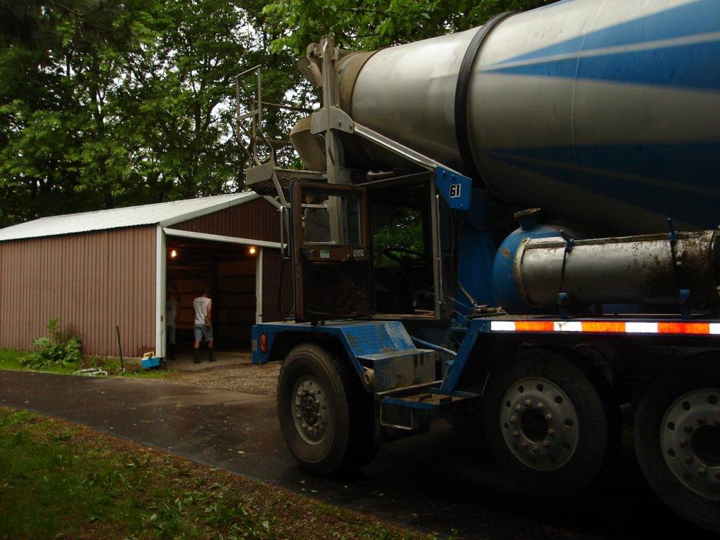 Small Cement Pole : Concrete slab in pole barn bryan ohio jeremykrill