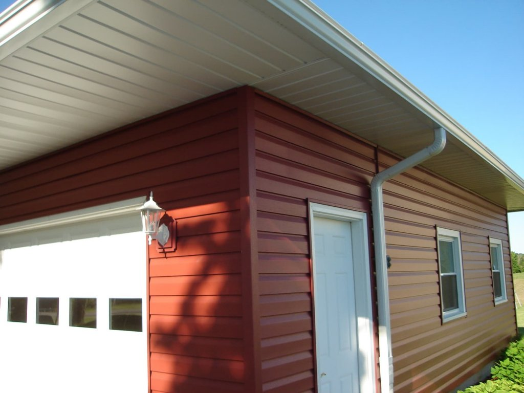 Dutch Lap Vinyl Siding W Alum Soffit Bryan Ohio