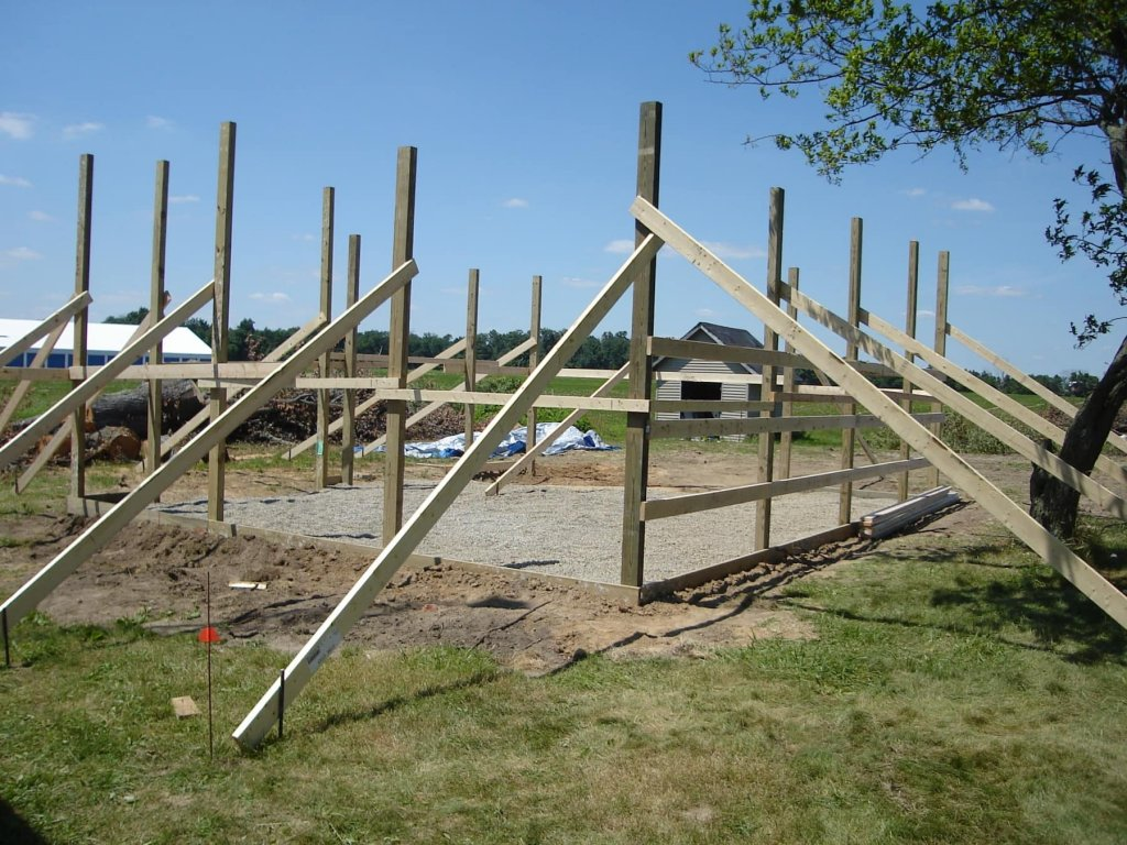 24′ x 30′ Pole Barn Garage - Hicksville, Ohio ...
