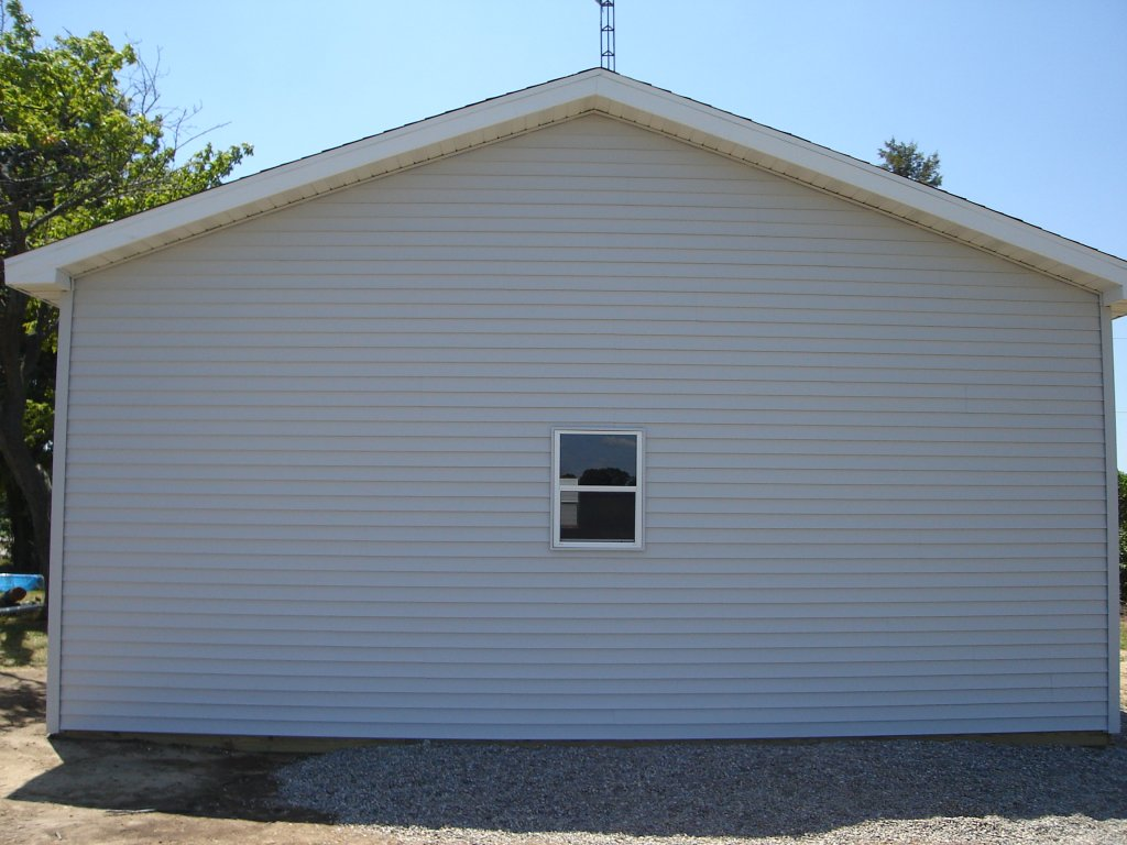 24 x 30 pole barn garage hicksville ohio for 24 per 24 kit di garage
