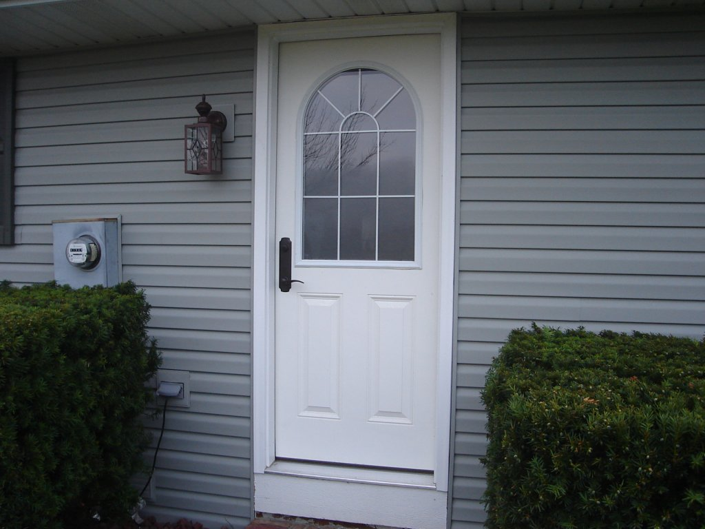 Entry door installation edgerton ohio for Install exterior door