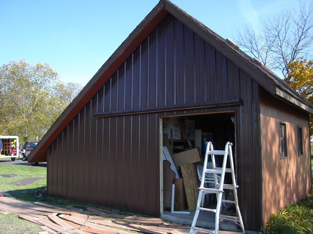 Pro Rib Steel Siding Storage Shed Jeremykrill Com