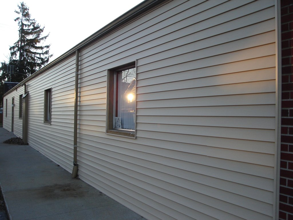 Vinyl Siding Commercial Building Stryker Ohio