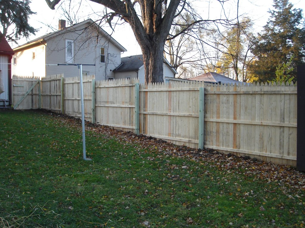 6 Stockade Privacy Fence Hicksville Ohio Jeremykrill Com