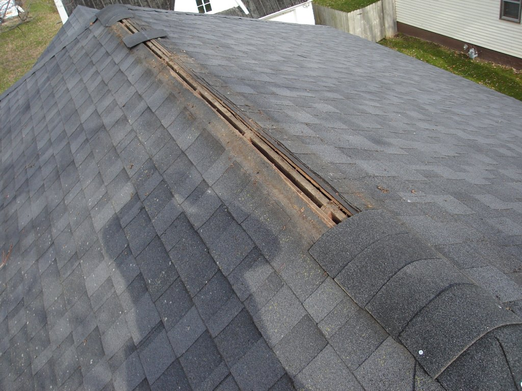 Ridge Vents For Roofs : Ridge vent replacement hicksville ohio jeremykrill