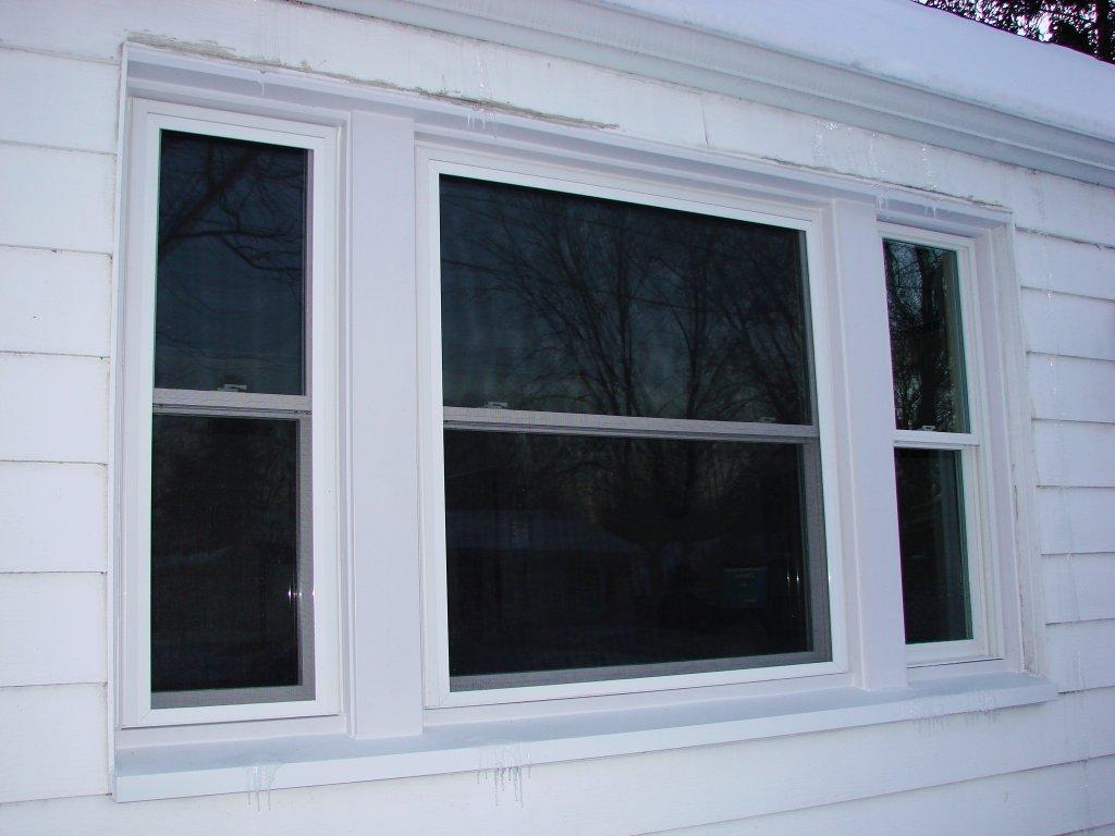 Polaris window installation jam repair and custom trim for Custom replacement windows