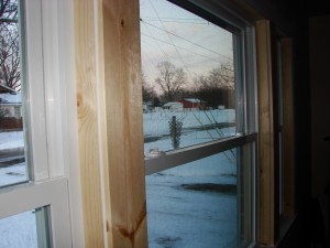 Polaris Window Installation & Custom Trim