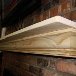Custom Pine Fireplace Mantel