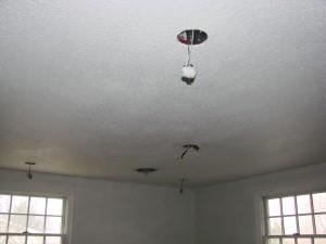 Recessed Light/Ceiling Fan Hookups