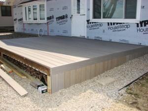UltraDeck Composite Decking - Rustic Gray