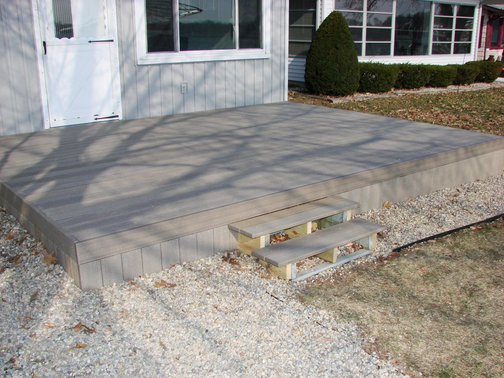 Deck Refurbish – UltraDeck Composite Decking – Hamilton