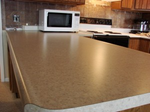 Kitchen Remodel - New Laminate Counter