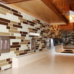 Glass Mosiac Tile Backsplash