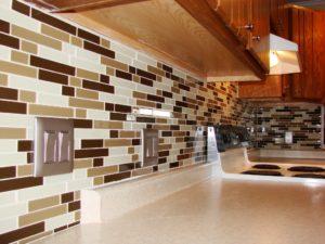 Glass Mosiac Tile Backsplash