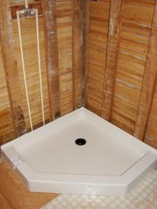 "New 39"" Shower Base - Bathroom Remodel - Hicksville, Ohio"