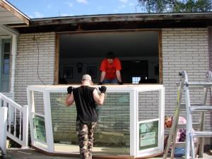 Bow Window Installation - Crestline 300 - Menards
