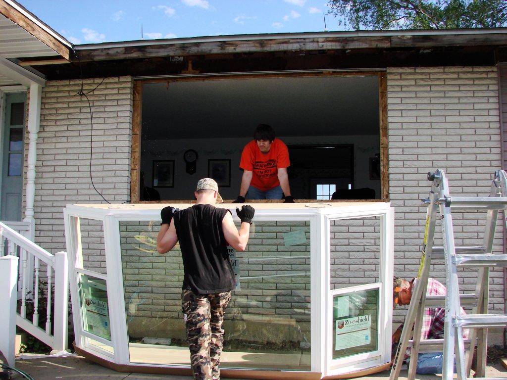 Bay window installation edgerton ohio for Windows installer