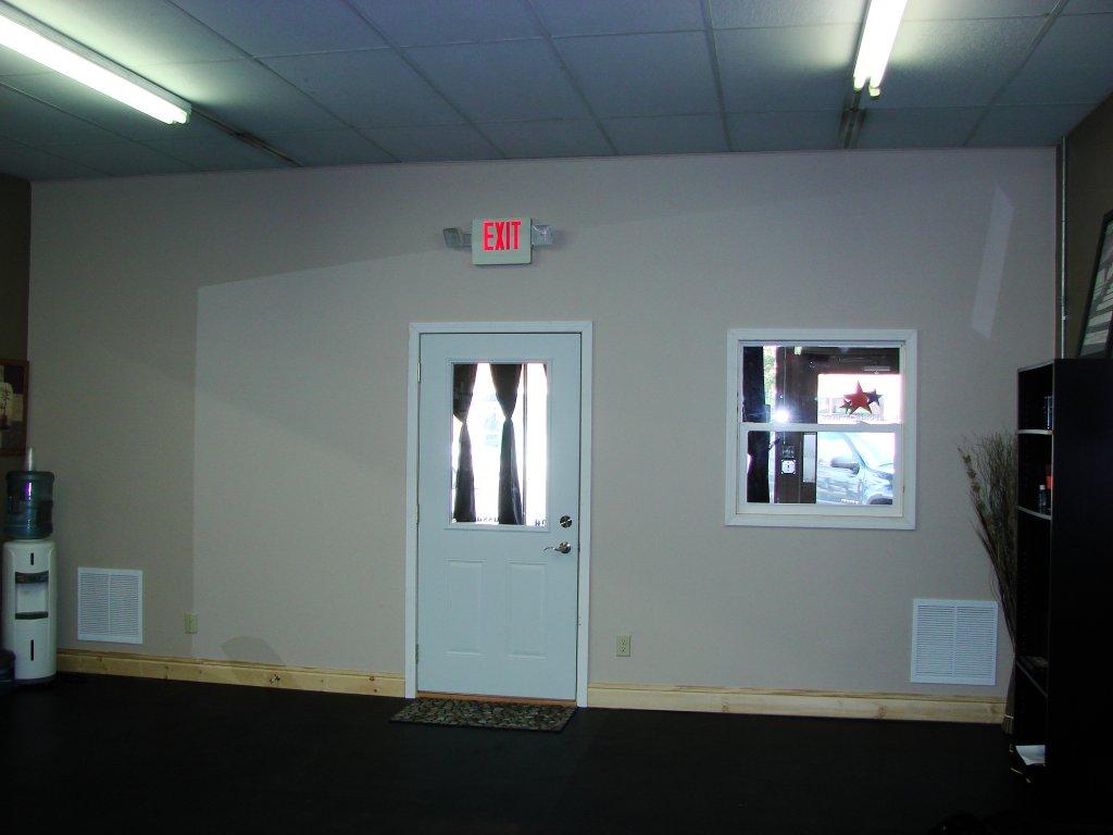 Wall Construction - Will Power Fitness - Hicksville, Ohio