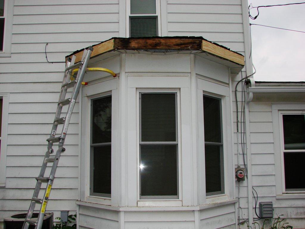 Bay Window Roof : Rubber roof bay window hicksville ohio jeremykrill