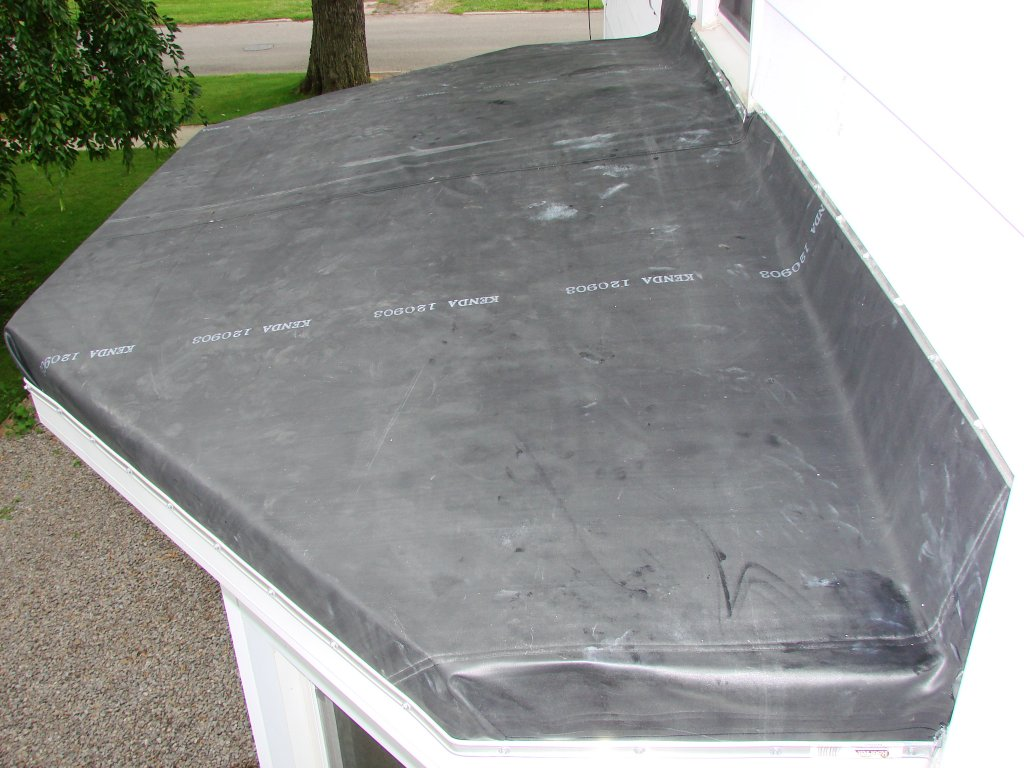 Rubber Roof Bay Window Hicksville Ohio