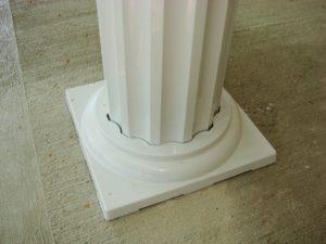 Fluted Aluminum Porch Columns - Bryan, Ohio