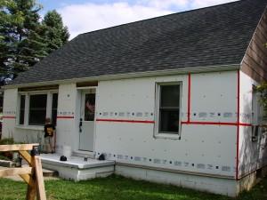 Vinyl Siding Installation - Cedar Creek Siding from Menards