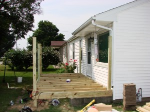 Treated Deck 8x16 - Edgerton, Ohio