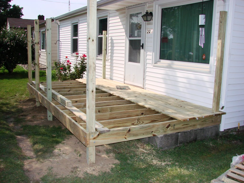 8 215 16 Treated Deck Edgerton Ohio Jeremykrill Com