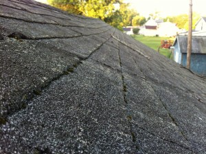 Before Owens Corning Roof Replacement - Hicksville, Ohio