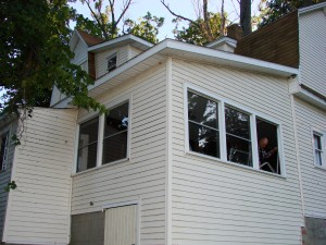 Vinyl Replacement Windows - Hamilton, Indiana - BEFORE