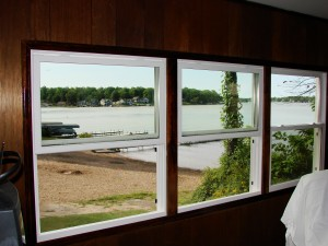 Vinyl Replacement Windows - Hamilton, Indiana - Solid Pine Casing
