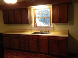 Before - Kitchen, Bathroom, Laundry Remodel - Hicksville, Ohio