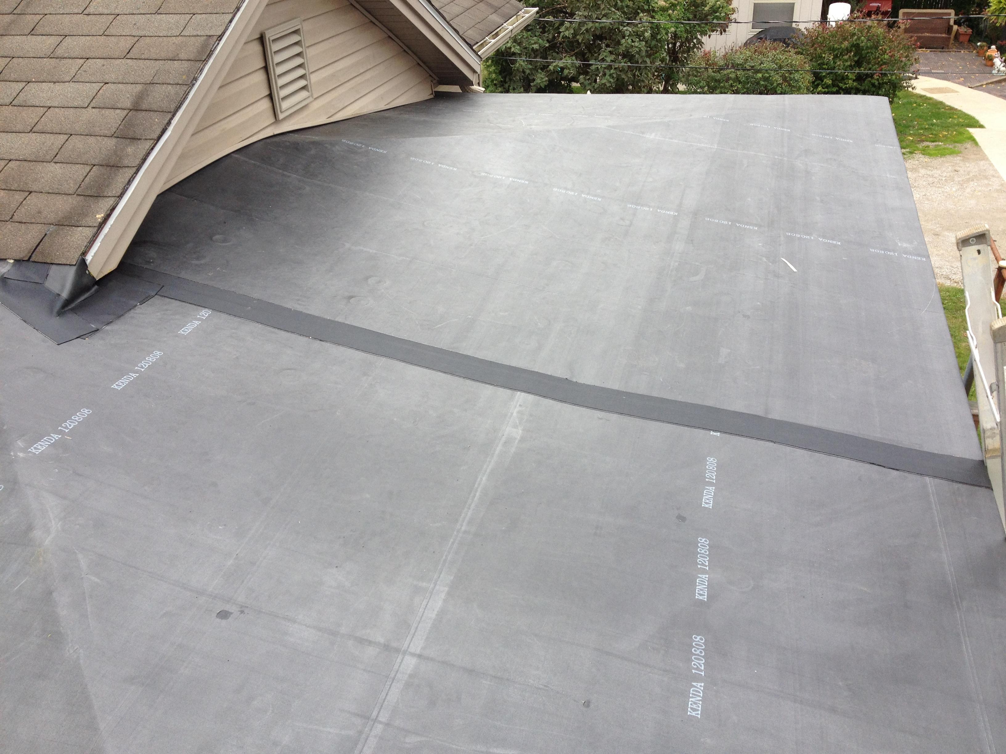 Rubber Roof Installation Hicksville Ohio Jeremykrill Com