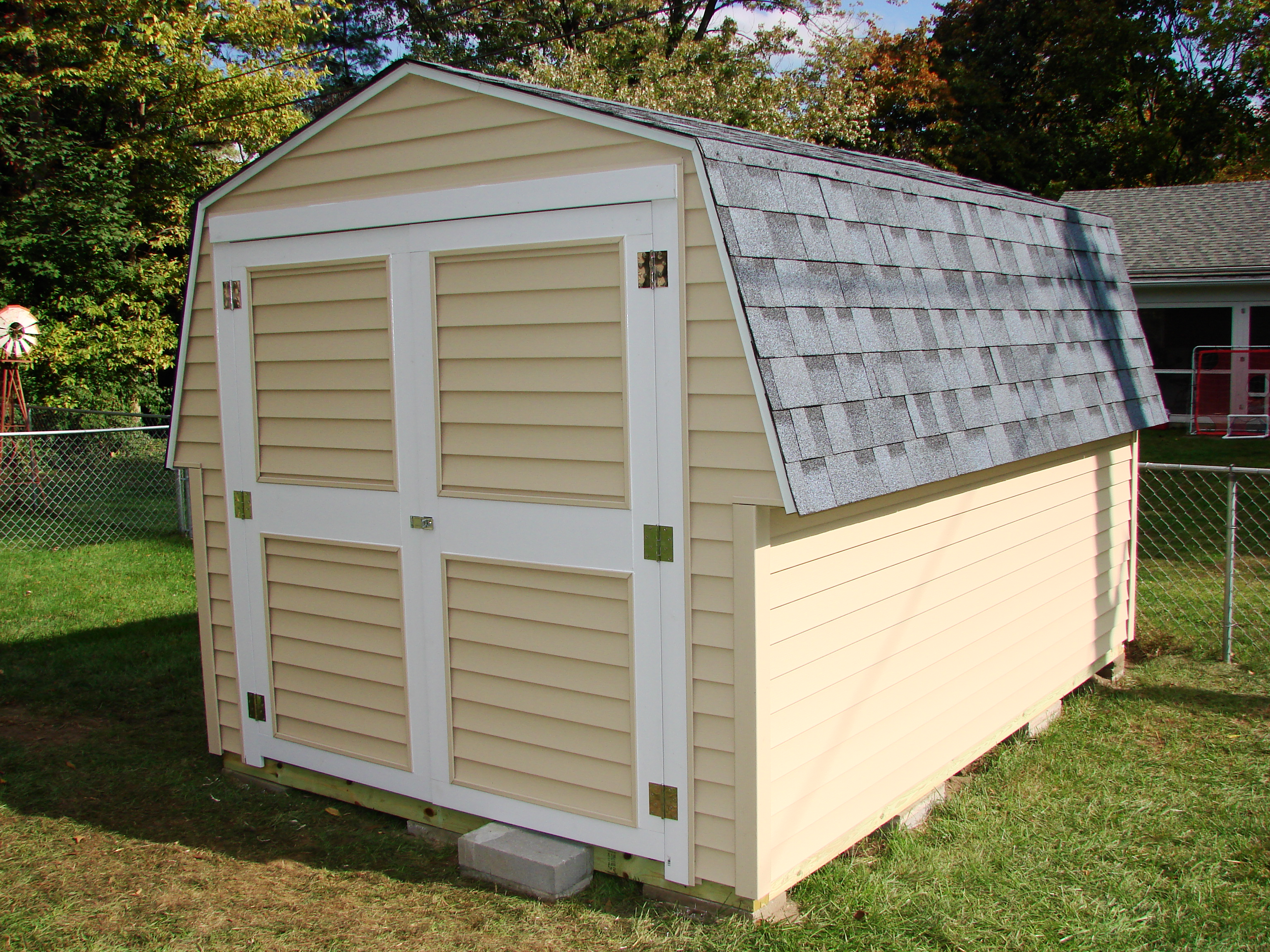 8 X 12 Gambrel Storage Shed Bryan Ohio