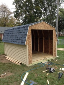 8 x 12 Gambrel Storage Shed - Bryan, Ohio