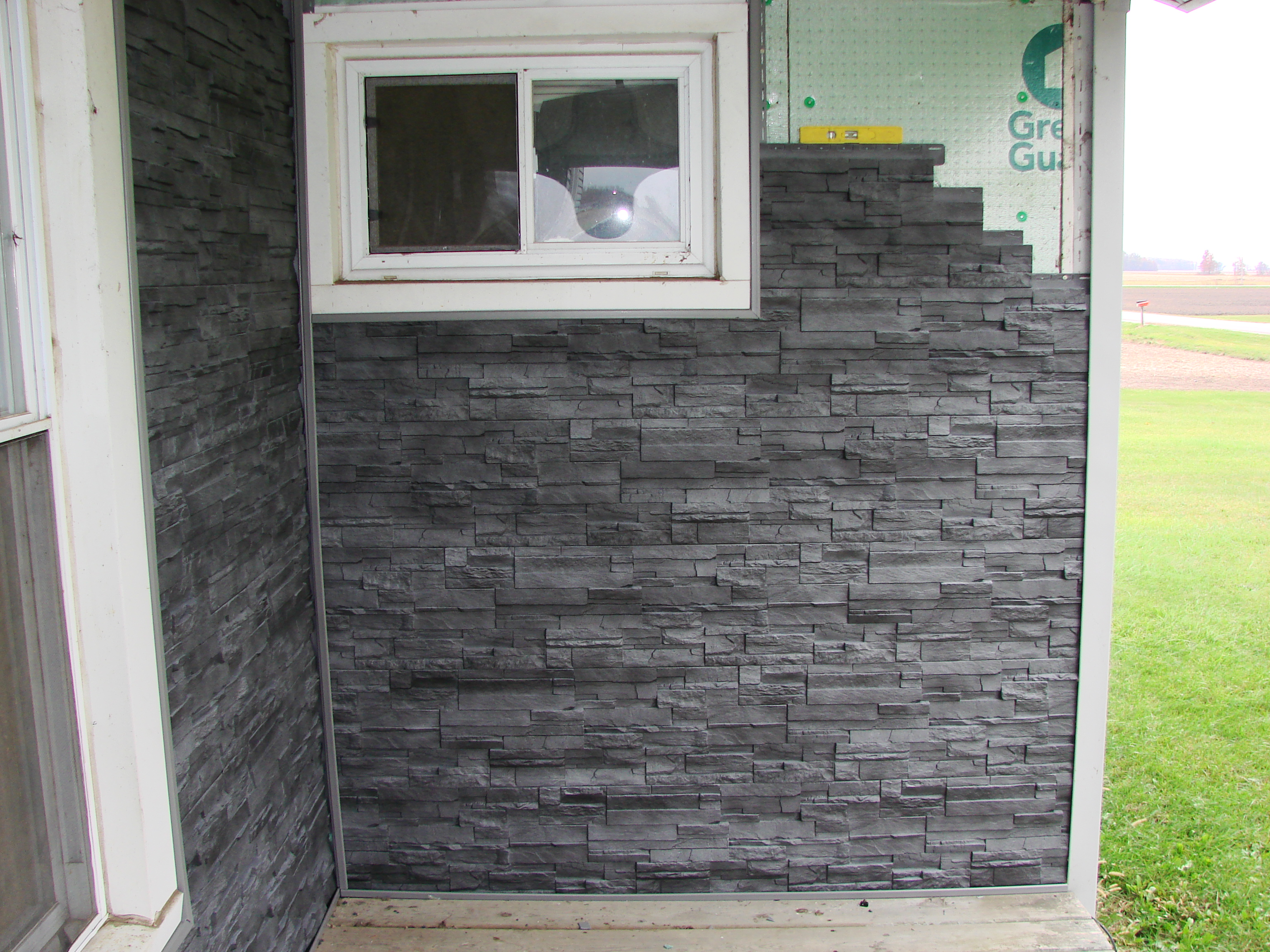 dry stack stone siding vinyl sherwood ohio