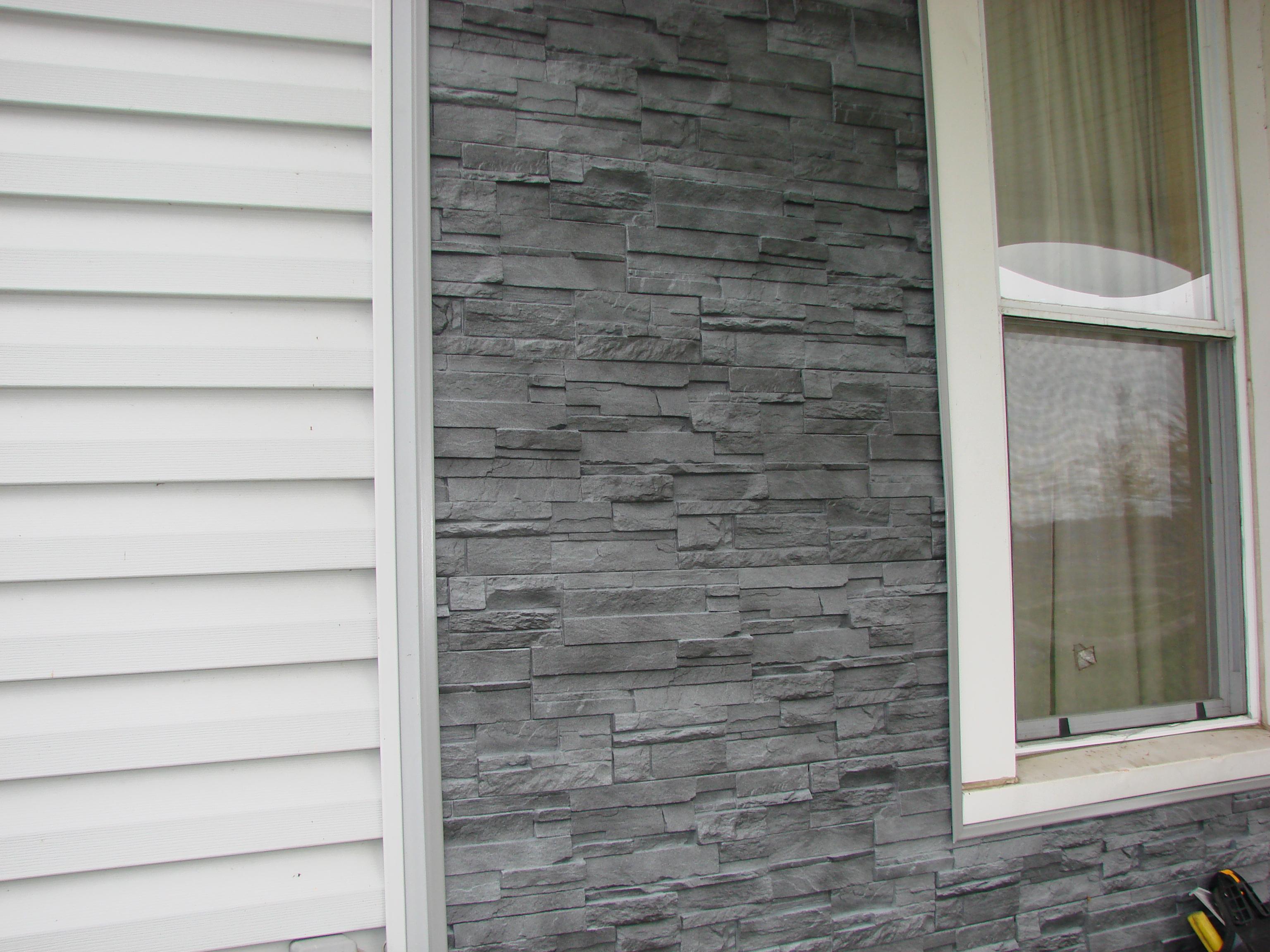 Dry Stack Stone Siding (Vinyl) u2013 Sherwood, Ohio : JeremyKrill.com