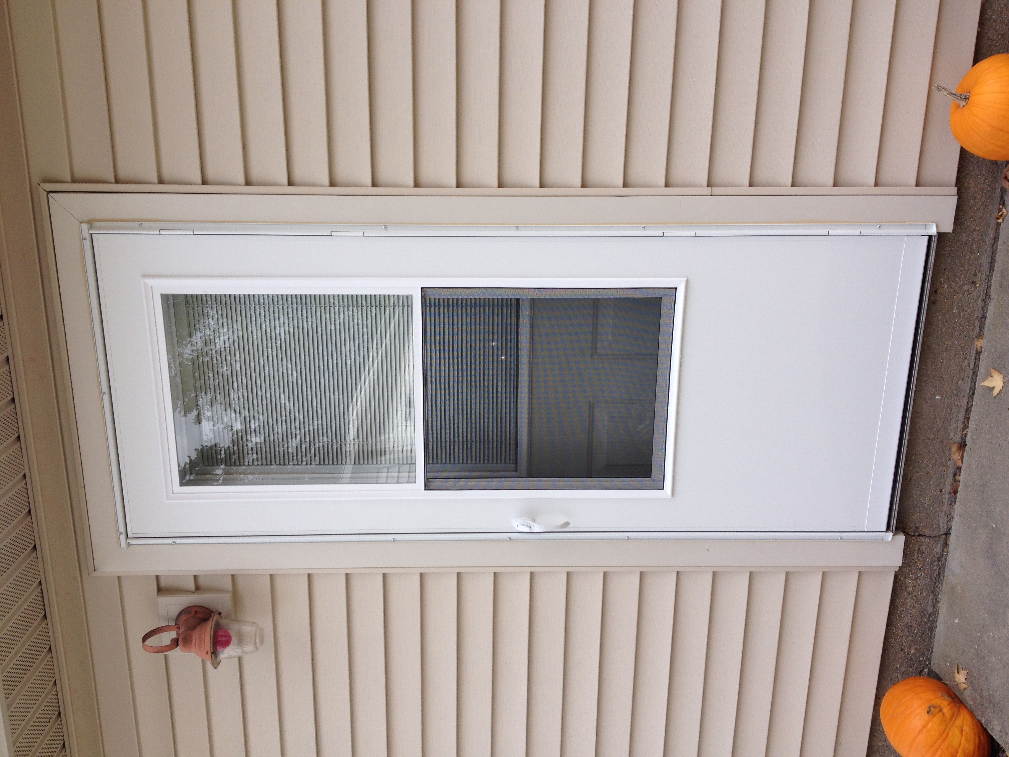 2448 #B45E17 Entry Door Replacement & Storm Door Installation – Hicksville Ohio  picture/photo Menards Storm Doors Exterior 41493264