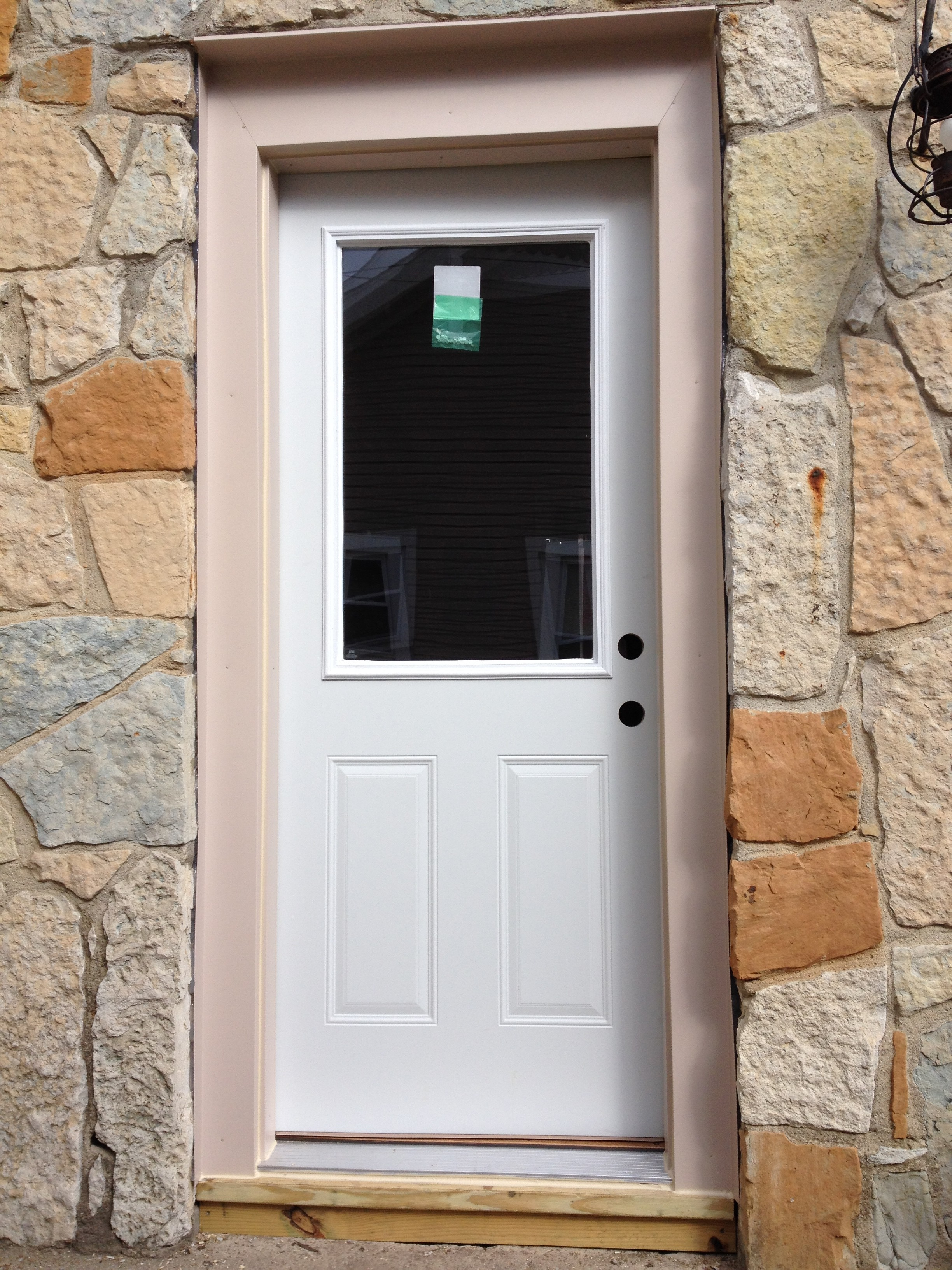 entry door replacement storm door installation