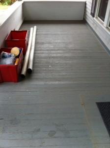 Porch Floor Replacement - Bryan, Ohio