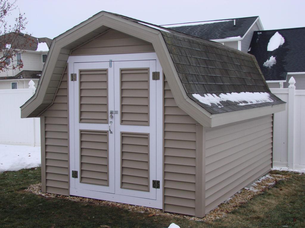 8 x 12 Storage Shed Facelift - Bryan, Ohio