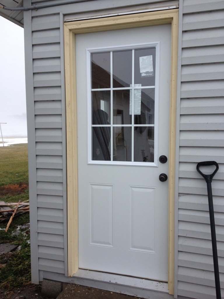 Mastercraft entry door installation sherwood ohio for Entry door installation