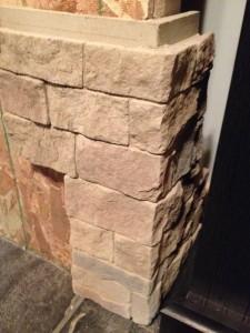 Durata Dry-Stack Stone Fireplace - Hicksville, Ohio