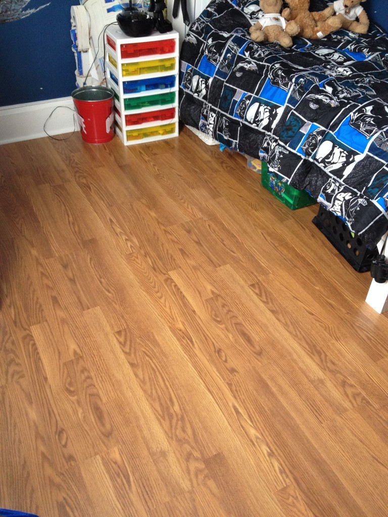 Tarkett Laminate Flooring Installation - Hicksville, Ohio