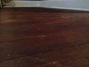 BEFORE - Tarkett Laminate Flooring Installation - Hicksville, Ohio