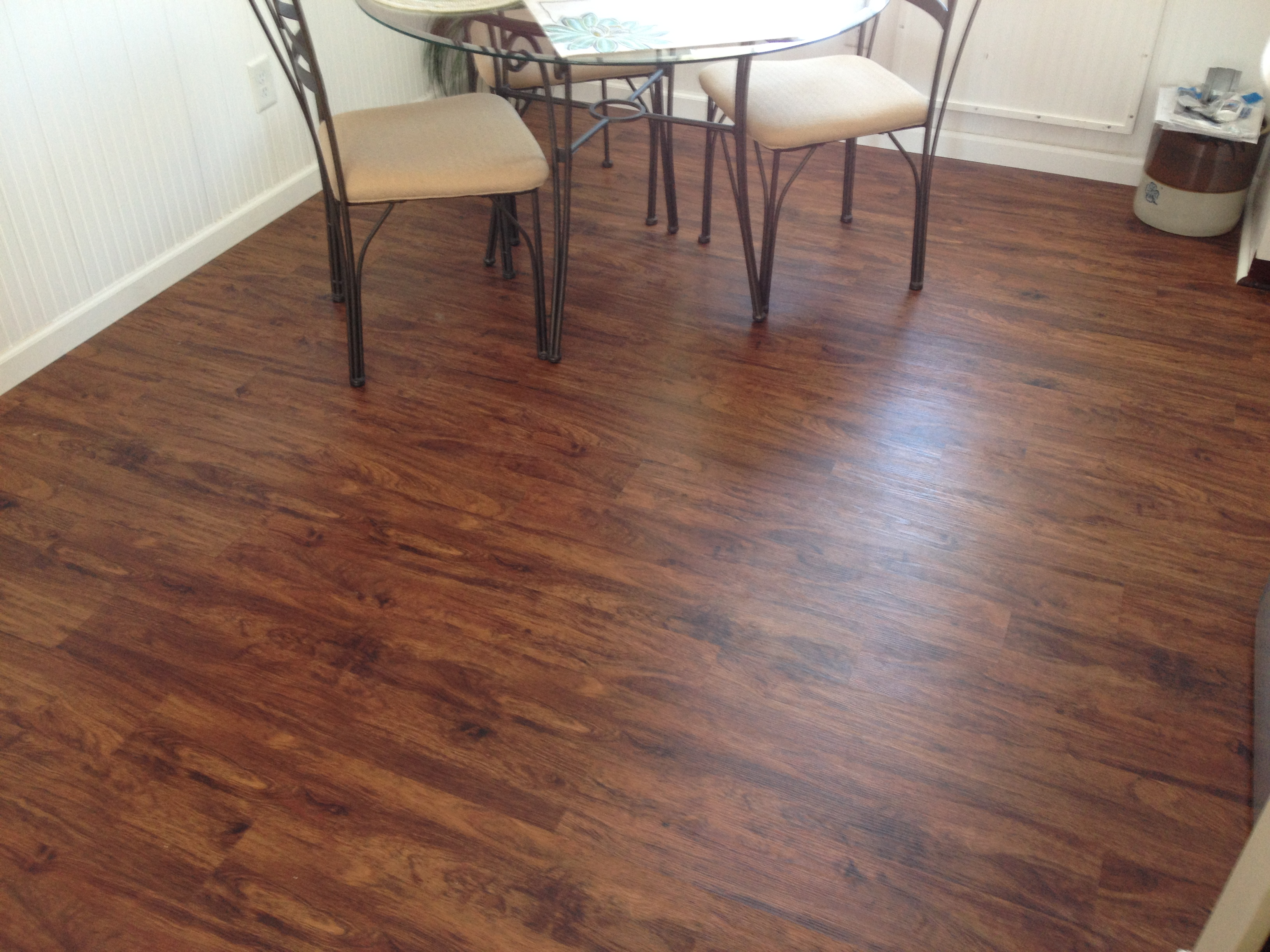 move over wood laminate flooring this vinyl plank flooring is the wave ...