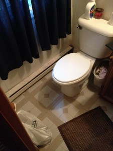 BEFORE - Bathroom Remodel - Antwerp, Ohio