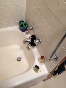 BEFORE - Bathtub Replacement - Bryan, Ohio