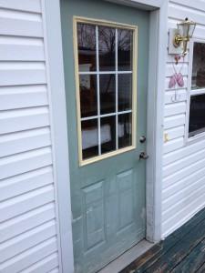 "BEFORE - 36"" Mastercraft Steel Door Installation - Hicksville, Ohio"